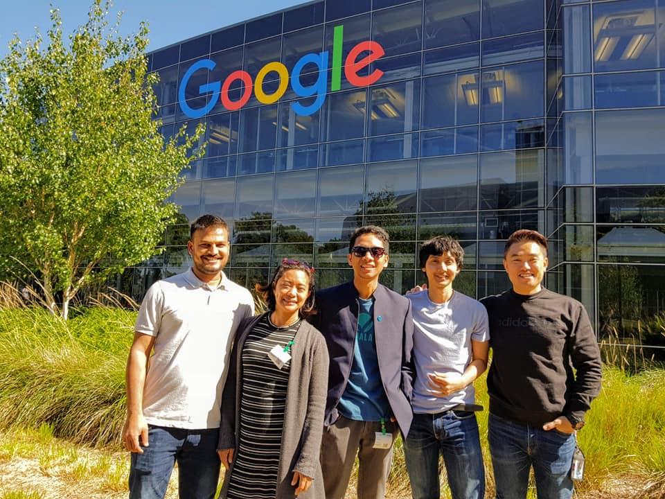 Khalti at Google headquarters