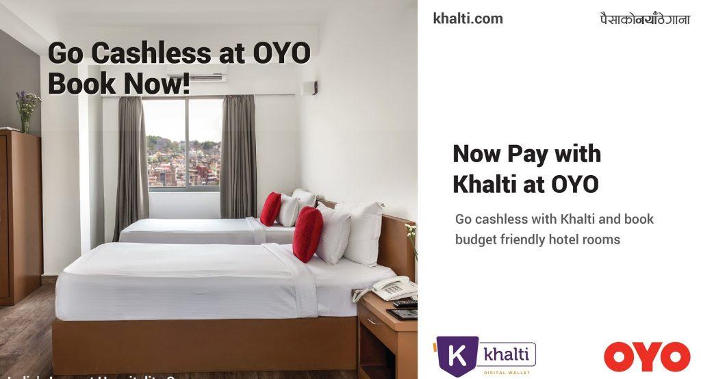 Khalti-OYO-Partnership