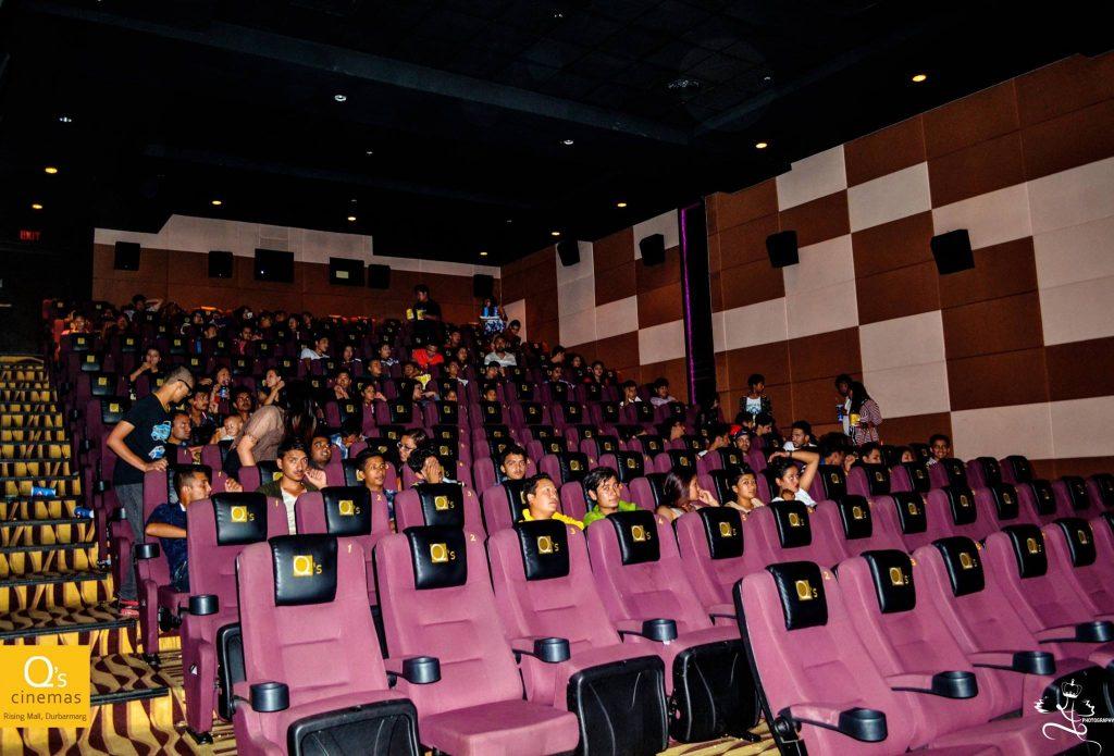 Book Movie Tickets online at Q's Cinemas via Khalti