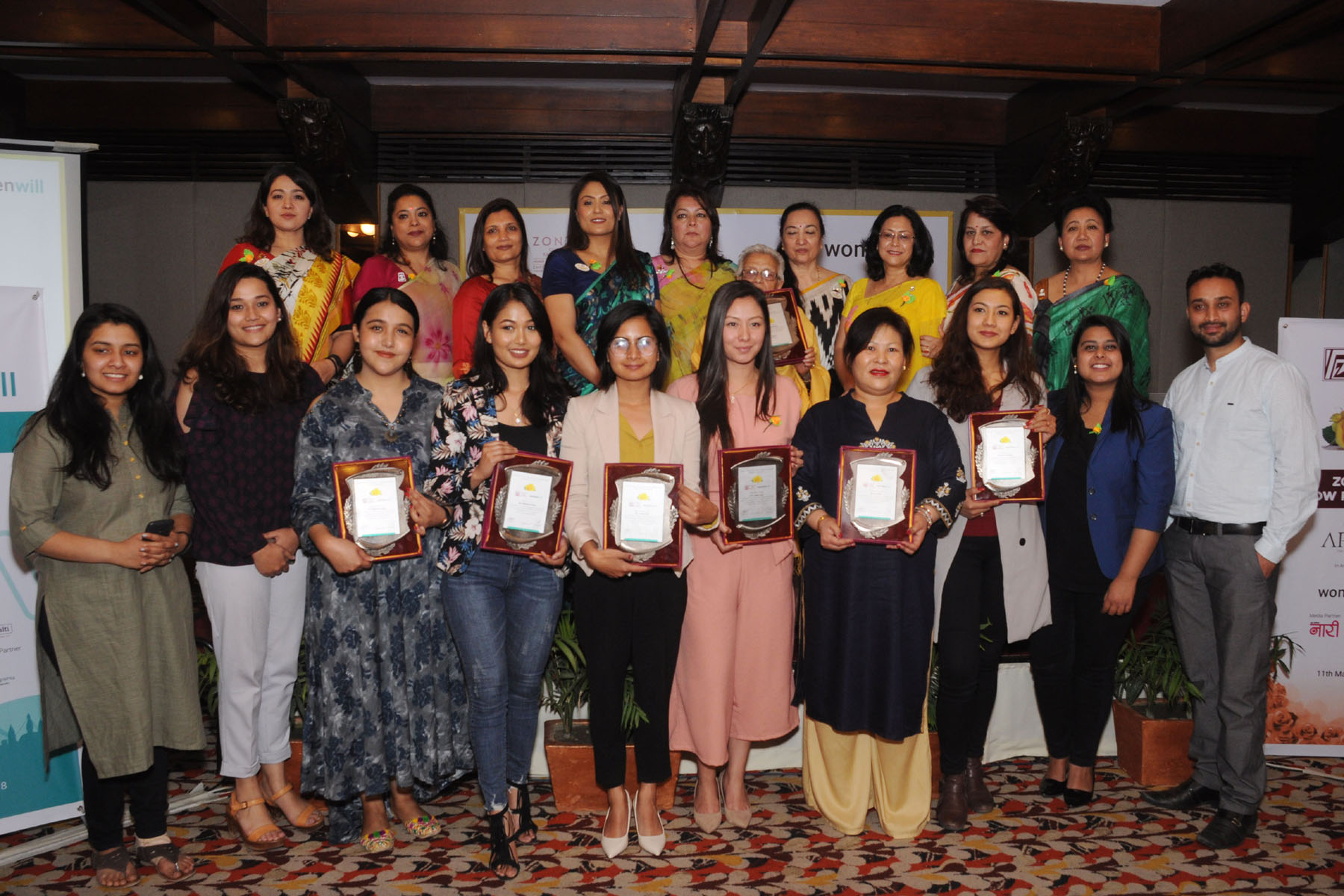 Seven inspiring women honored on Yellow Rose Day and Women Will Fest 2018