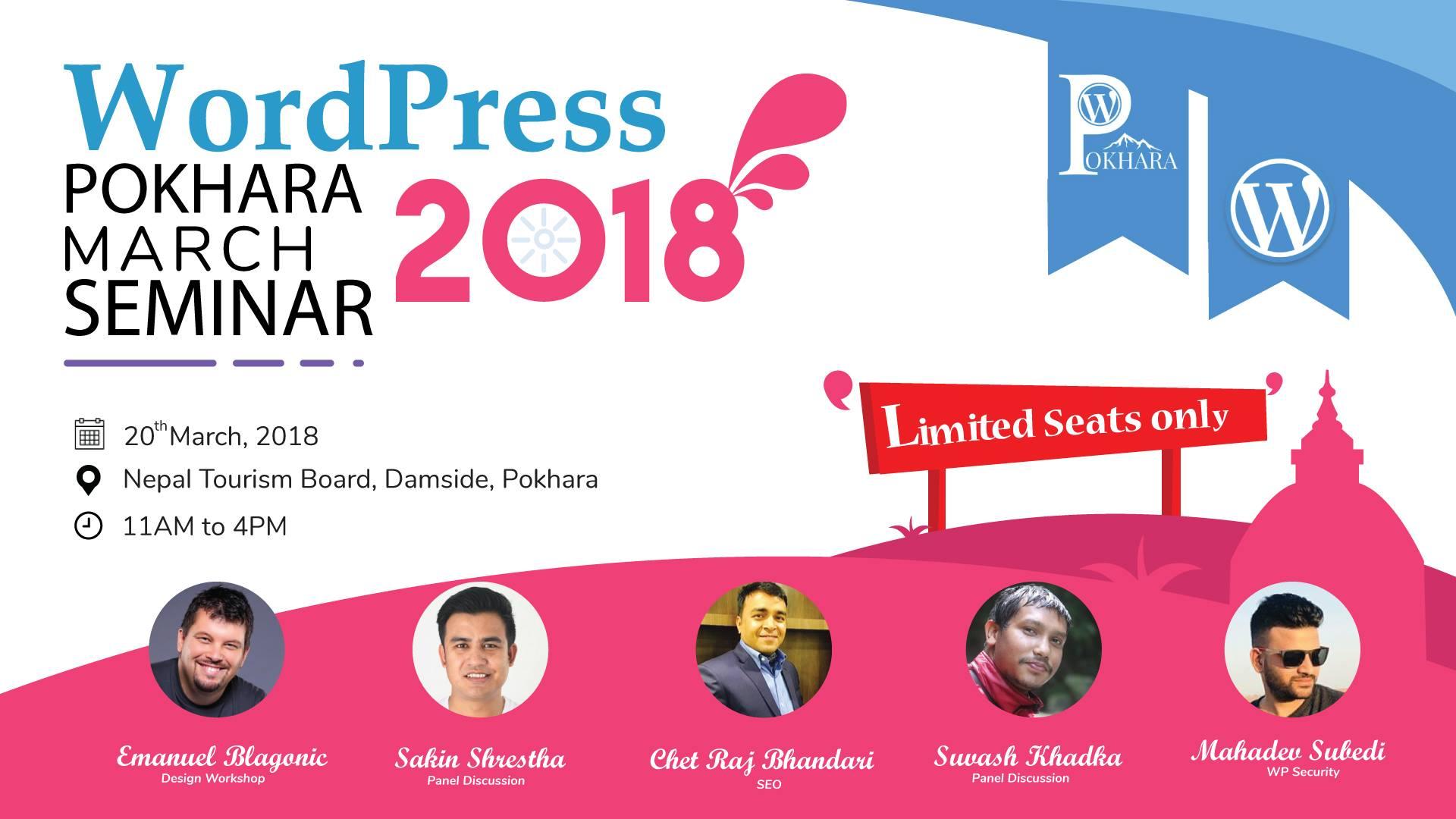 WordPress Pokhara Seminar being organized today!