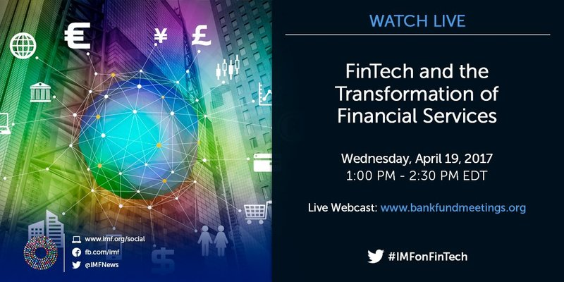 'FinTech for Financial Inclusion' roundtable being organized at IMF headquarters
