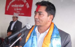 Naresh Bhandari, Minister for Internal Affair and Law, Karnali Province