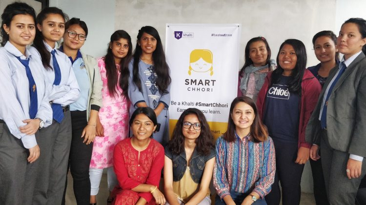 Smart Chhori Workshop by Khalti Digital Wallet