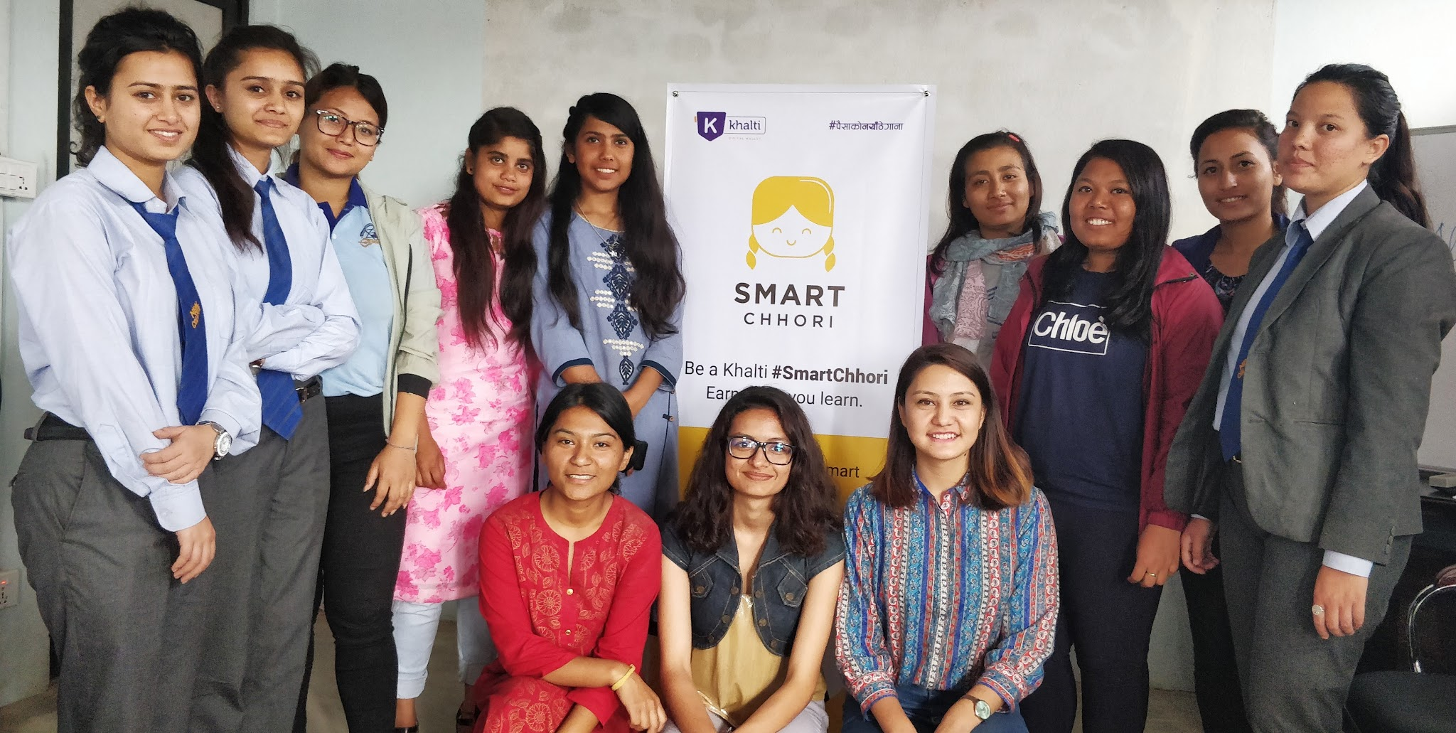 Khalti coming up with Smart Chhori campaign in Nepal