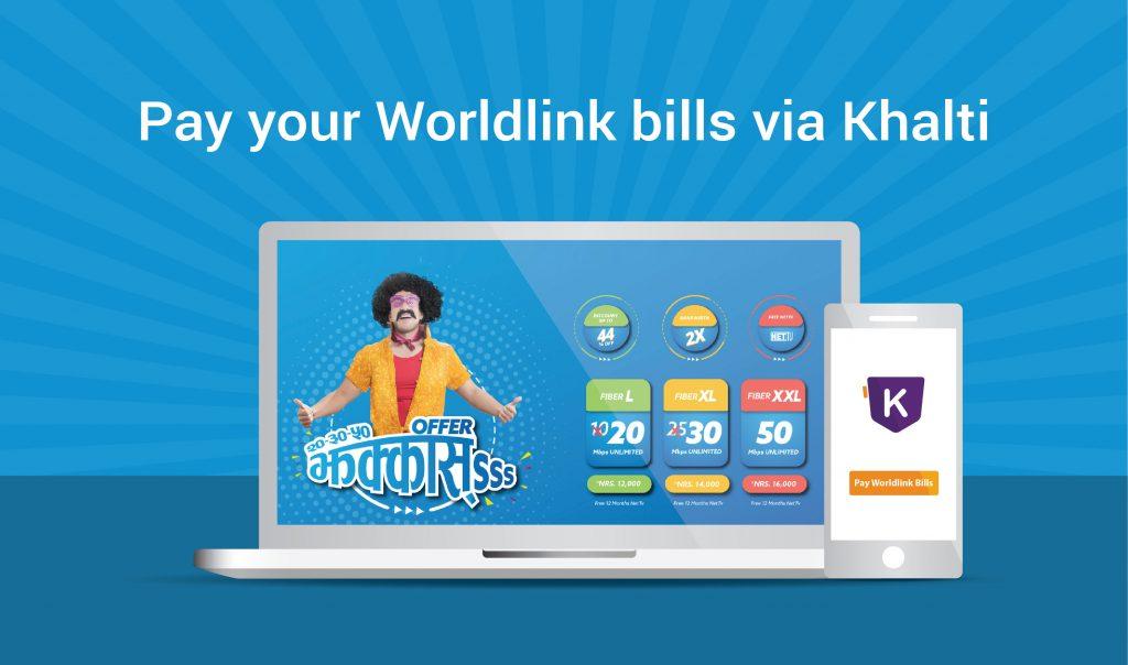 pay worldlink bill online