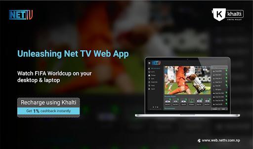 recharge net tv app