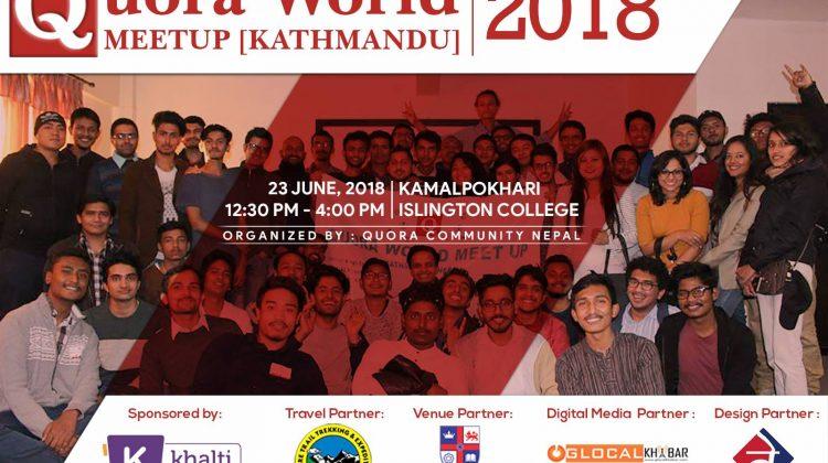 Quora Community Nepal meetup