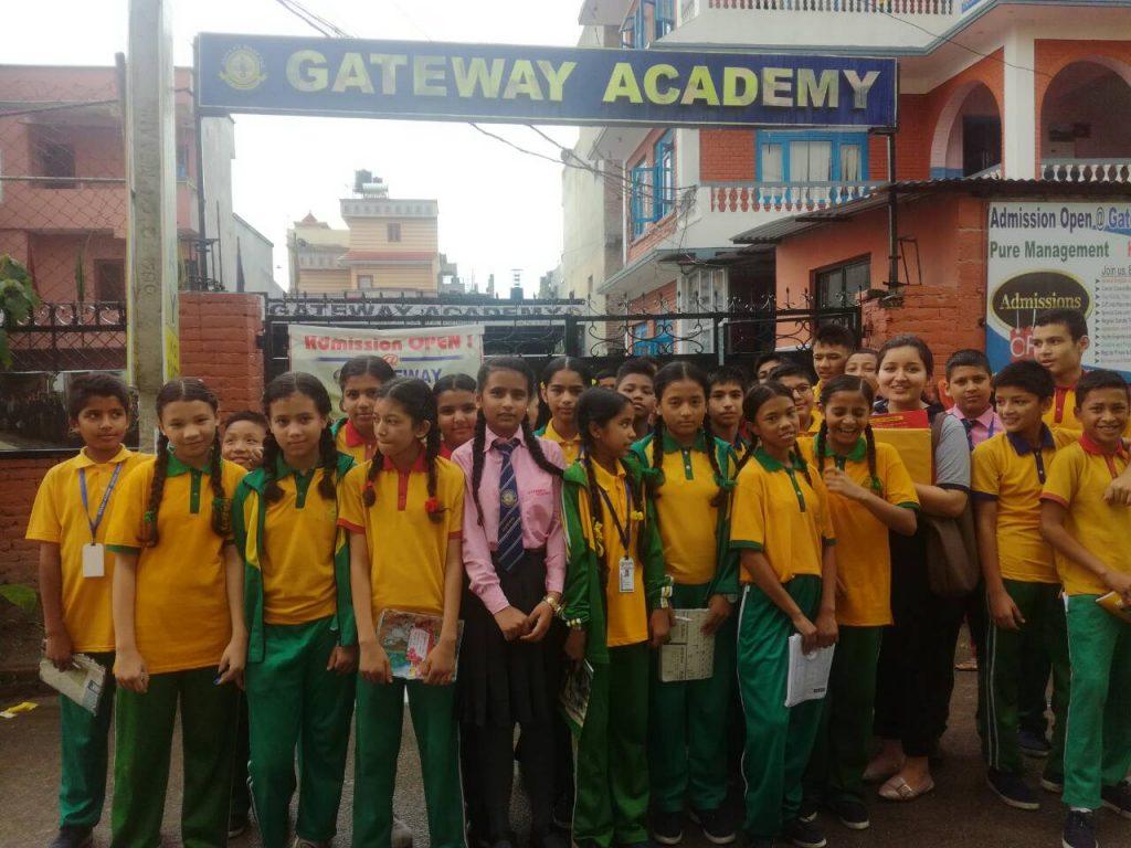 Fin-Teach, a program on Financial Literacy in Nepal Photo Courtesy: Entrepreneurs Nepal
