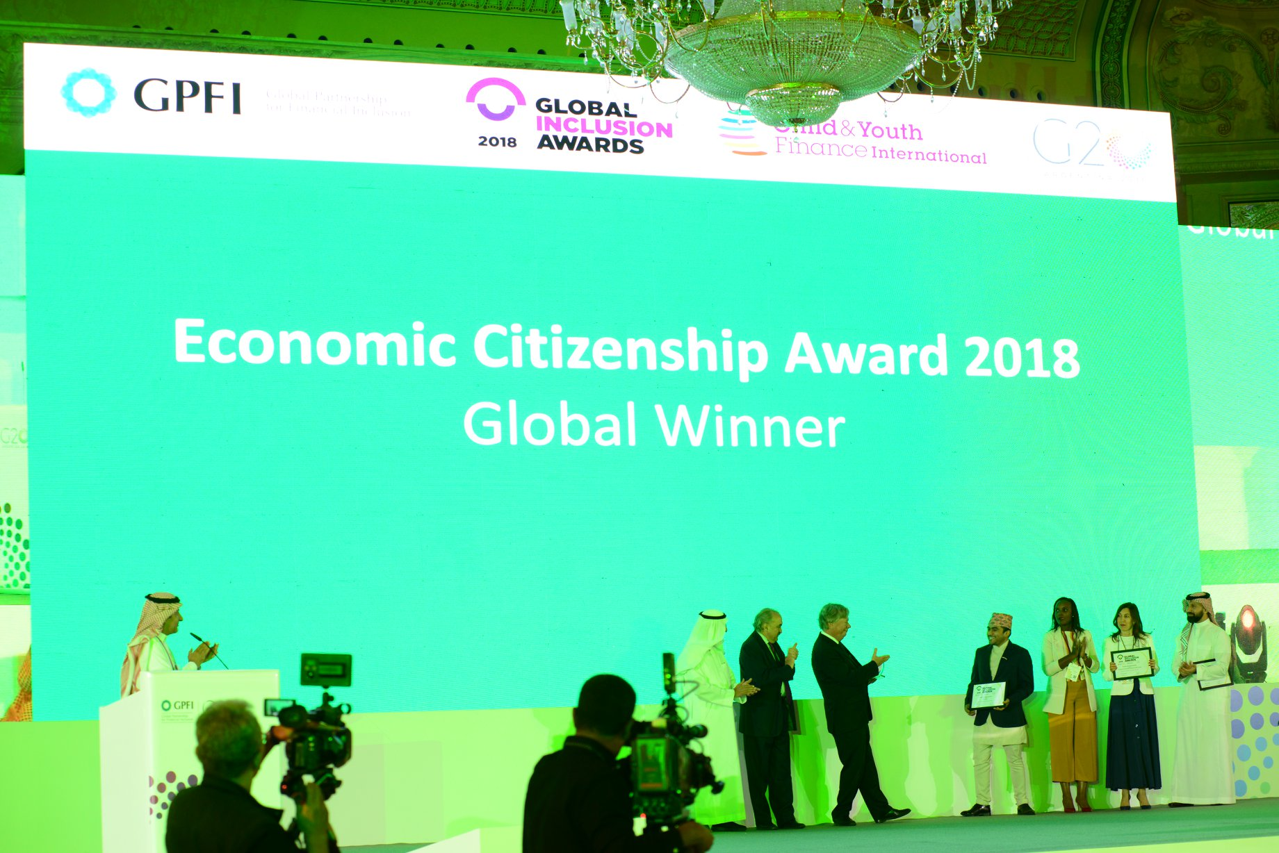 FINLIT Nepal receives 'Economic Citizenship Award 2018'