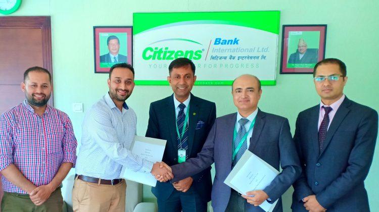 सिटिजन्स बैंक र खल्ती डिजिटल वालेटबीच डिजिटल भुक्तानीका लागि सम्झौता
