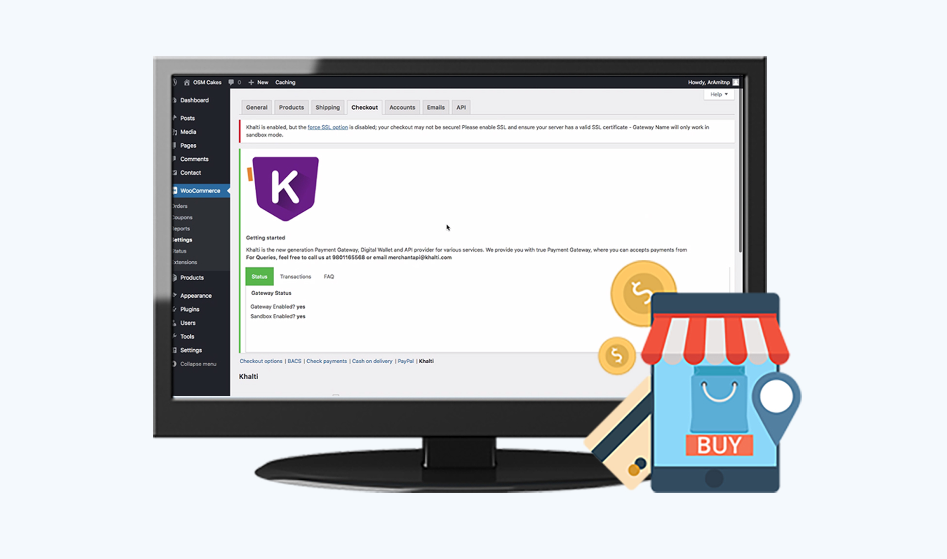 How to integrate Khalti WooCommerce Payment Gateway Plugin?