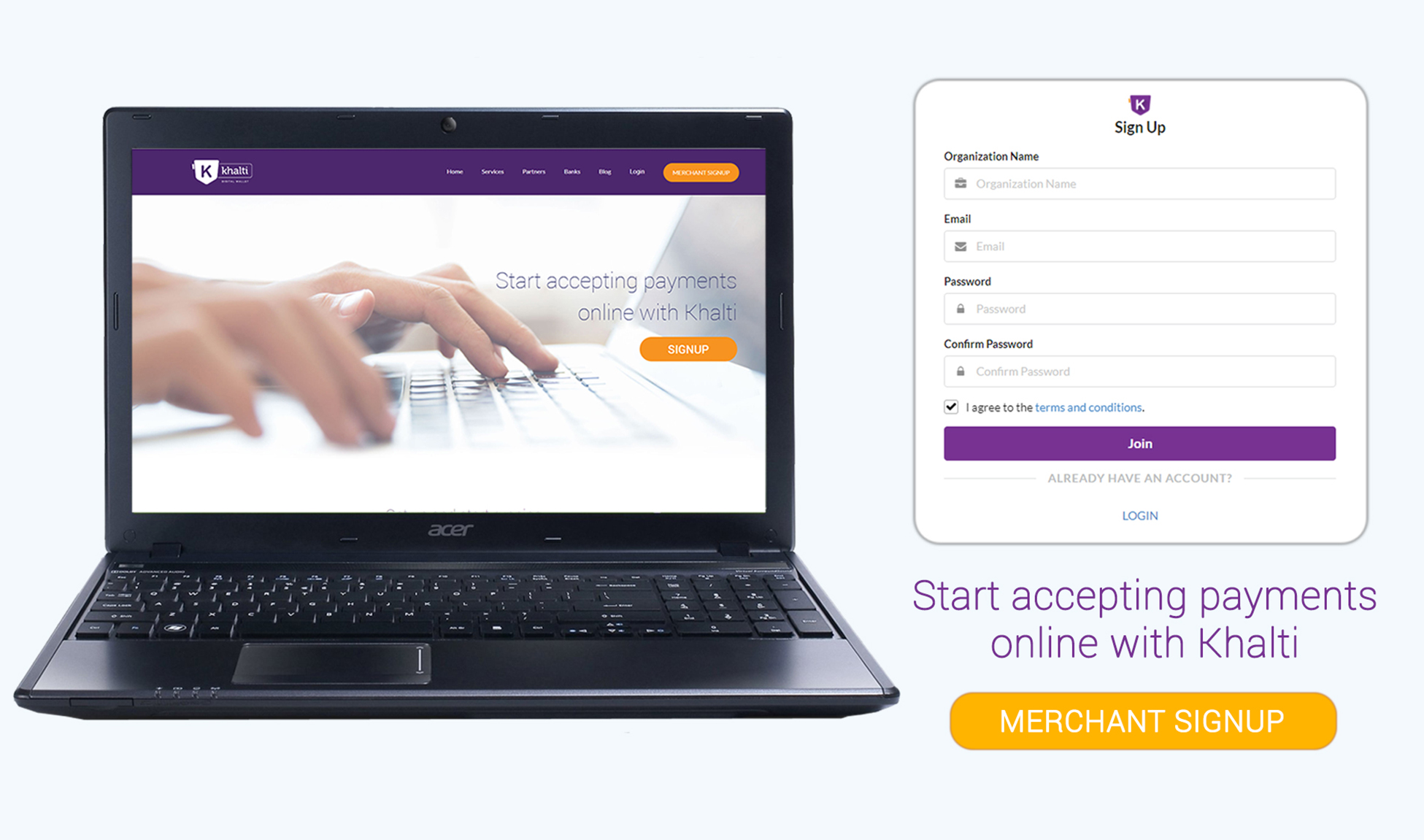 How to sign up and integrate Khalti Online Payment Gateway?