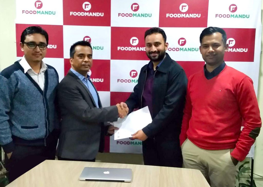 Khalti Teams Up With Foodmandu To Facilitate Digital Payment For Online Food Delivery In Nepal