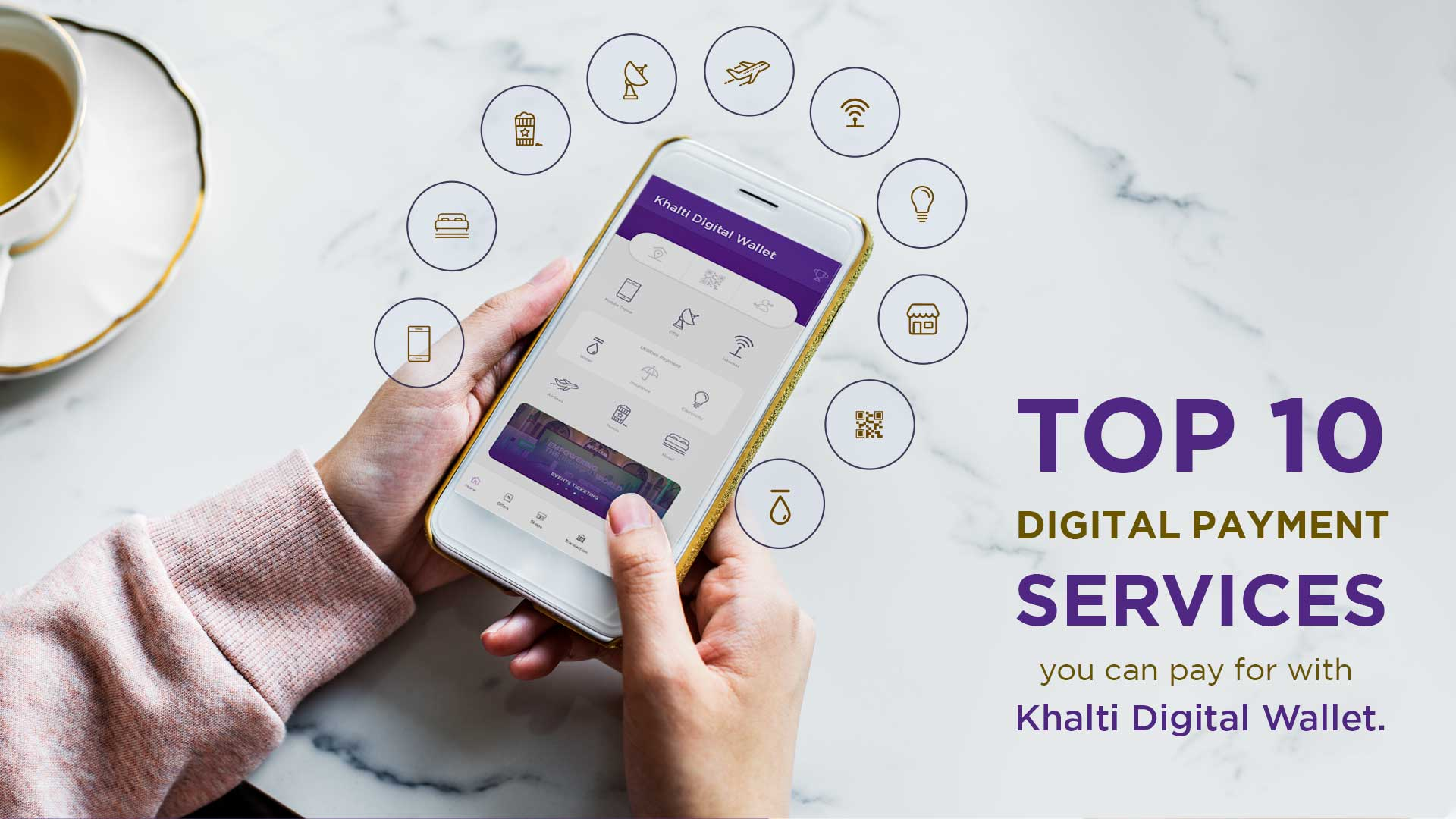 Top 10 digital payment services that you can use via Khalti to make your life easier