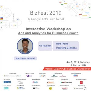 Raushan Jaiswal_Interactive Workshop on Ads and Analytics for Business Growth