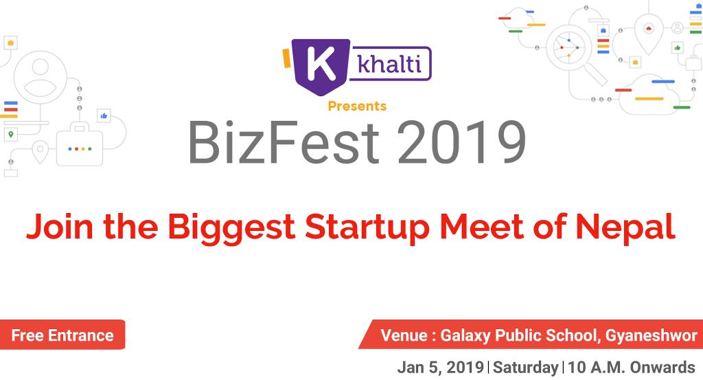 Khalti presents GBG BizFest 2019