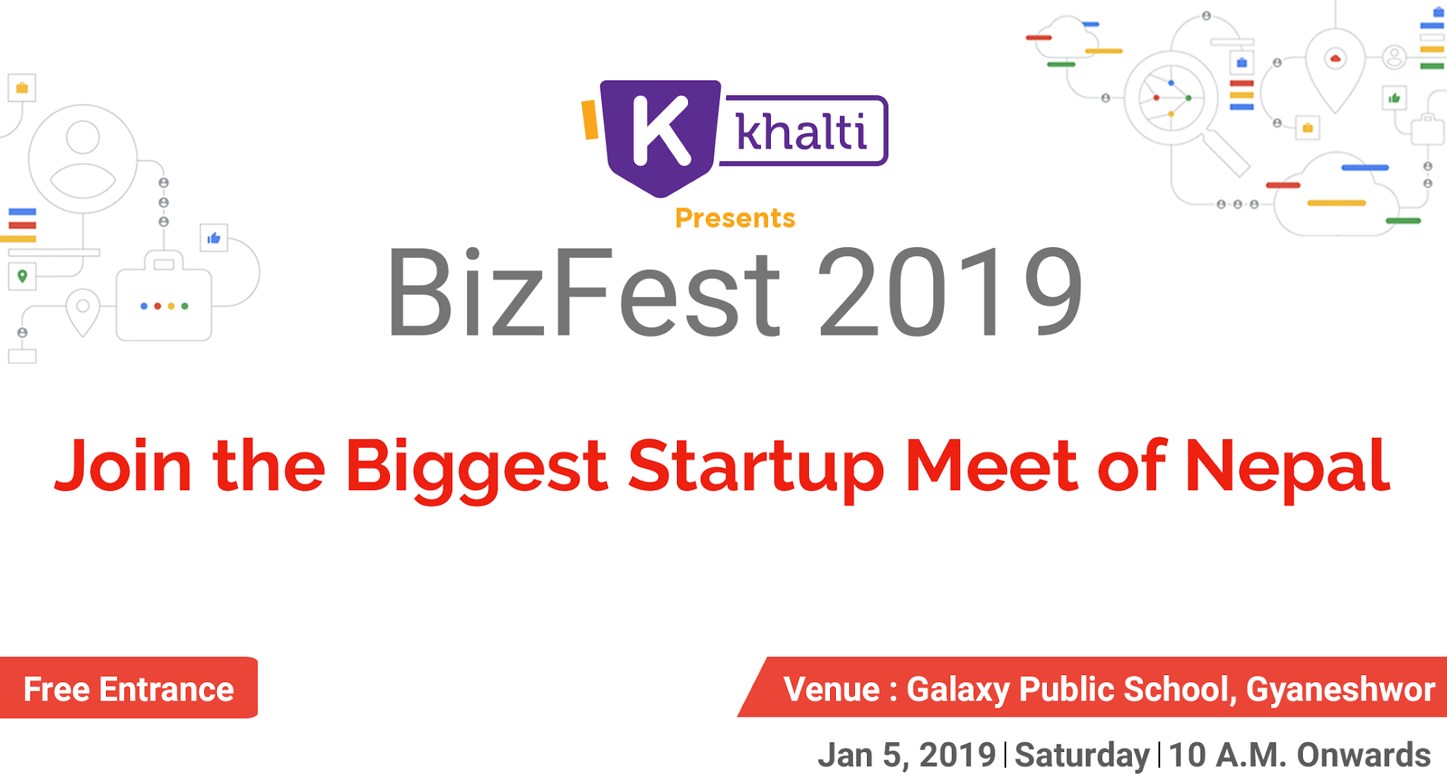 GBG BizFest 2019, Nepal's Biggest Startup-Meet is just a few days away! Are you excited?