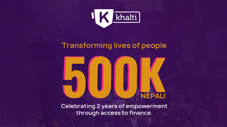 Khalti turns TWO today! Thank You all for making Khalti one of the most recognized digital payment solutions in Nepal in this very short duration
