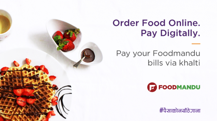 How to order food from Foodmandu and pay digitally via Khalti