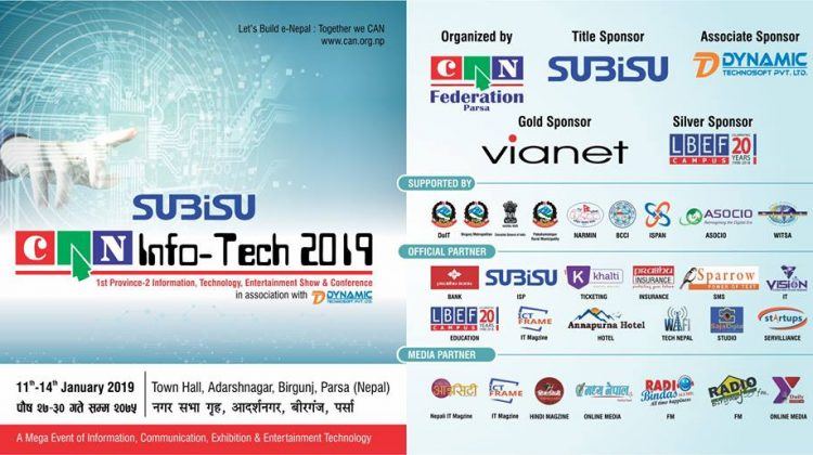 Subisu CAN InfoTech Birgunj 2019_Khalti digital wallet ticketing partner