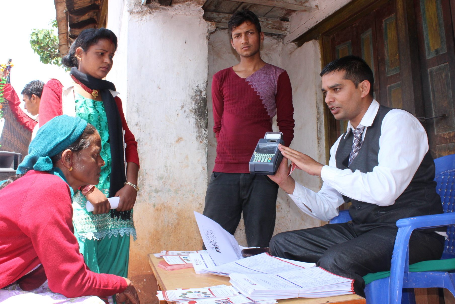 Branchless Banking: Facilitating Financial Inclusion in Nepal