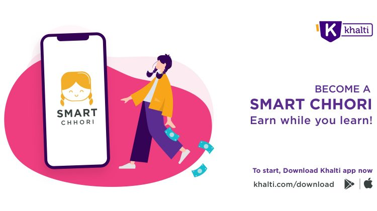 Call for Applications from 10,000 girls to become Khalti Smart Chhori for digitally empowered Nepal