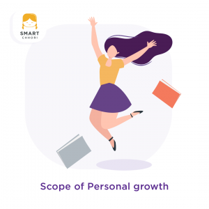 Scope for Personal Growth
