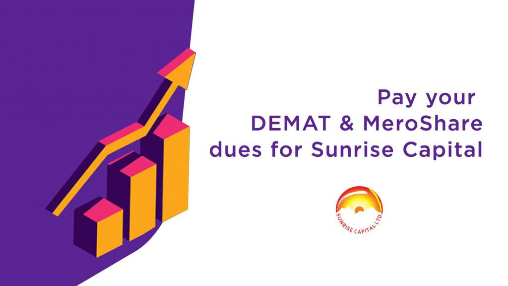 How to pay Sunrise Capital Demat Fees from Khalti?