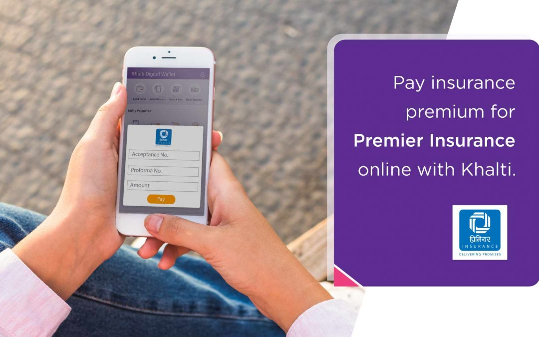 How to pay Premier Insurance Premium from Khalti?