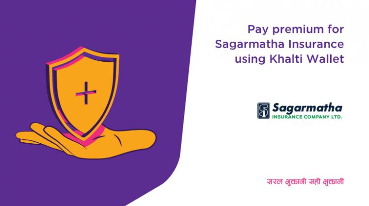 Sagarmatha Insurance Premium Payment Online from Khalti app