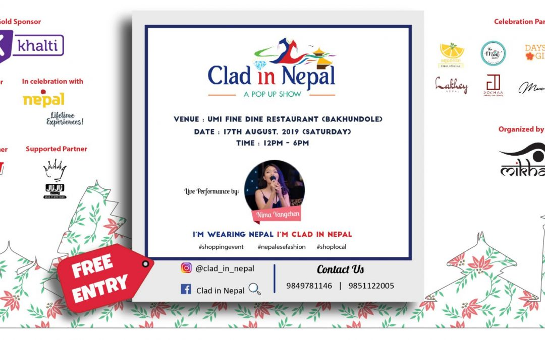 Clad in Nepal: An expo to support Made in Nepal products and local businesses