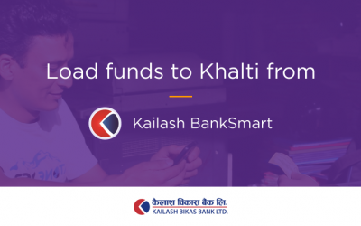 Load money in Khalti from Kailash BankSmart – Kailash Bikas Bank Mobile Banking App