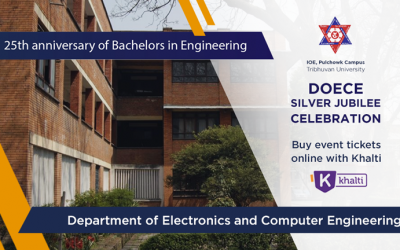Electronics and Computer Engineering Department of IOE Pulchowk Campus Celebrating Silver Jubilee on November 8-9; Register online with Khalti