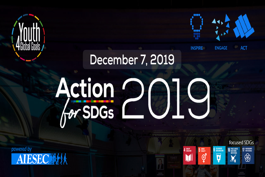 Action for SDGs 2019: Youth for Global Goals
