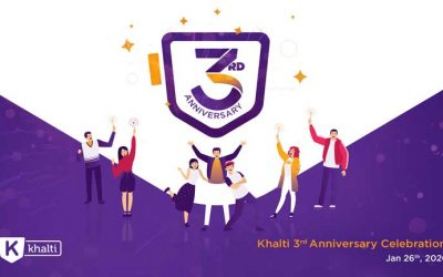 Khalti Celebrates Third Anniversary – Thank You Dear Users For Your Endless Support