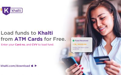 Load Money Using ATM Cards to Khalti for Free