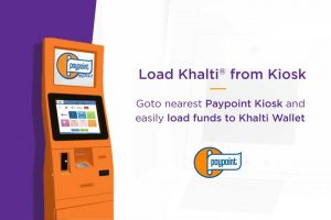Paypoint Kiosk Machine-Khalti Fund Load