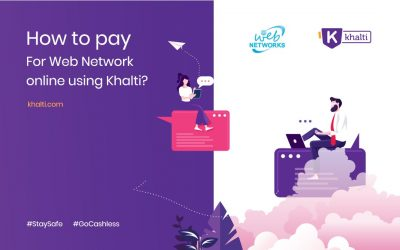 How to pay for Web Network online using Khalti?