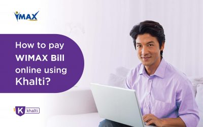 How to pay WIMAX Bill online using Khalti?
