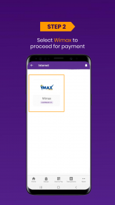 Wimax bil payment