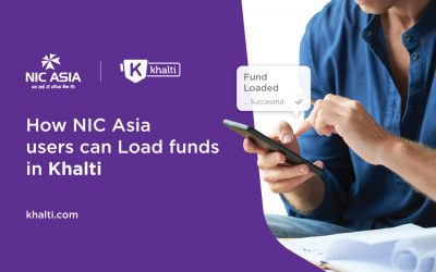 How NIC Asia users can load money in Khalti using multiple ways?