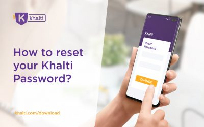 Forgot your password? Here's how to reset and change your Khalti password
