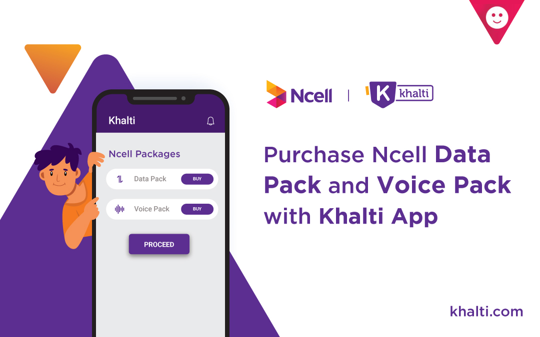 Now Buy Ncell Mobile Data Packs directly from Khalti App!