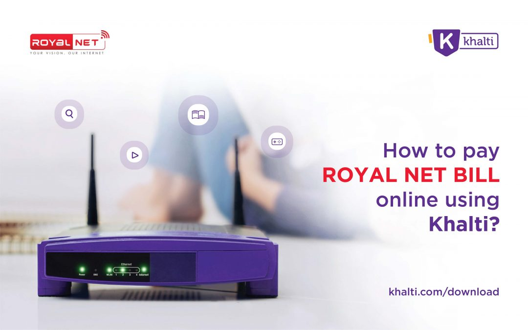 How to pay Royal Network Bill online using Khalti?
