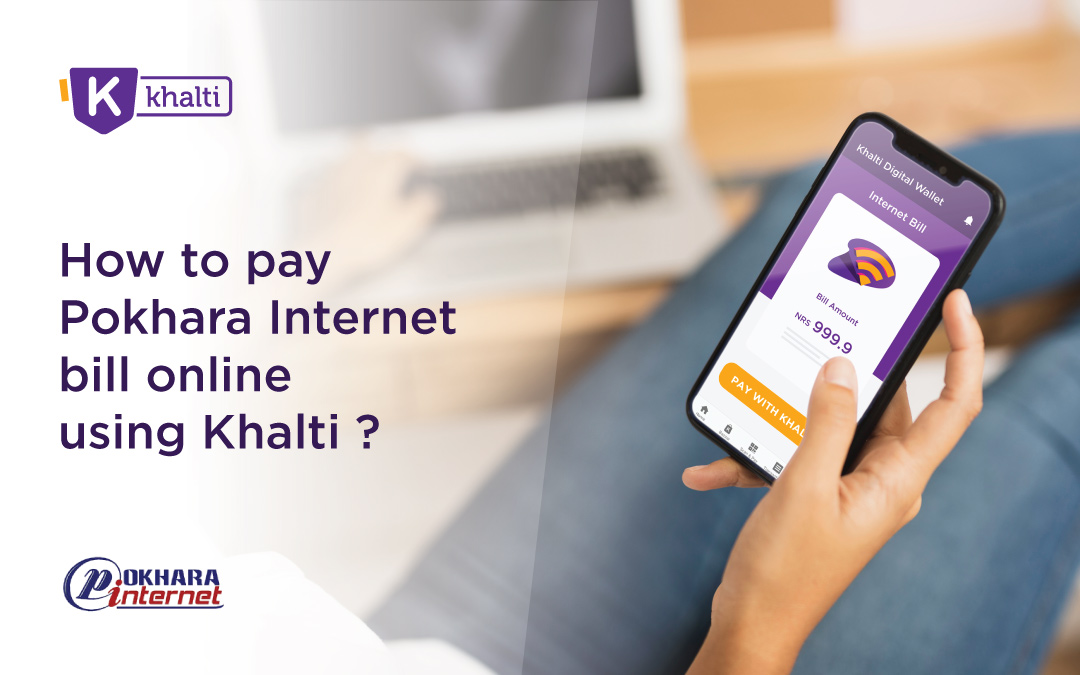 How to pay Pokhara Internet bill online using Khalti?
