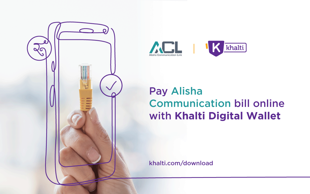 How to pay Alisha Communication Bill online with Khalti?