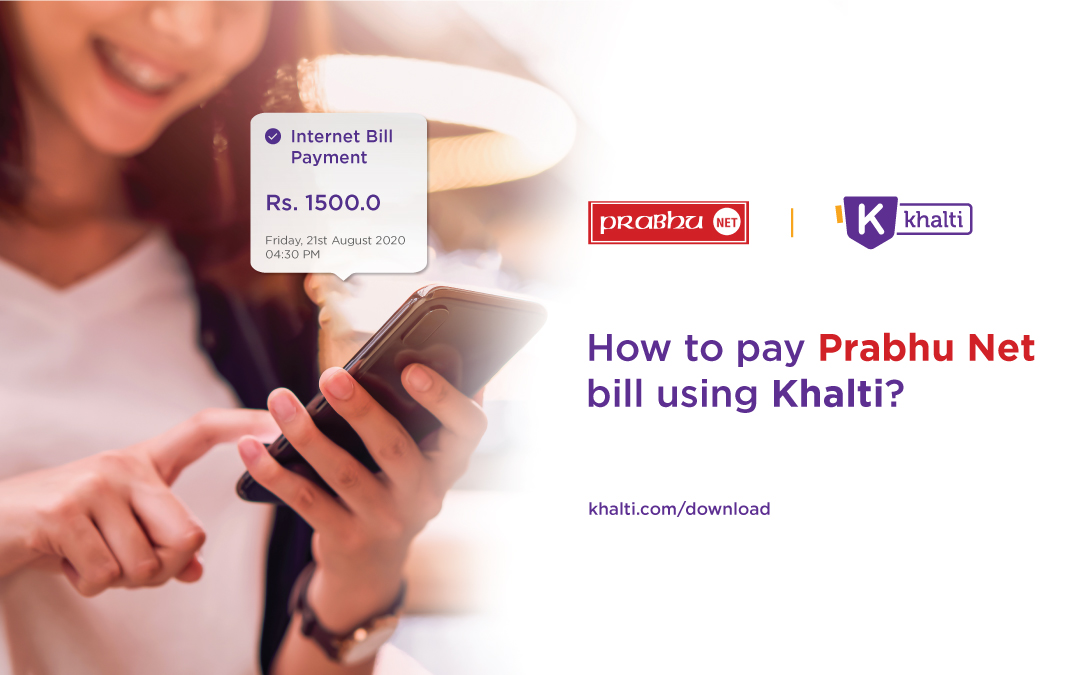 How to pay Prabhu Net bill online using Khalti?