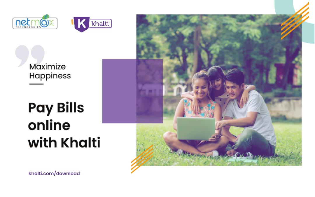 How to pay Net Max bill online using Khalti ?