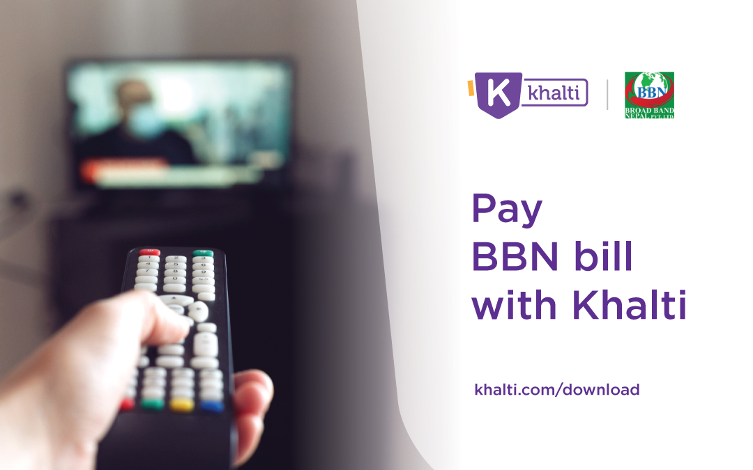 How to Recharge Broad Band Nepal (BBN) online via Khalti?